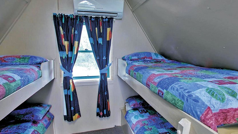 a-frame-cabin-bunks-rear